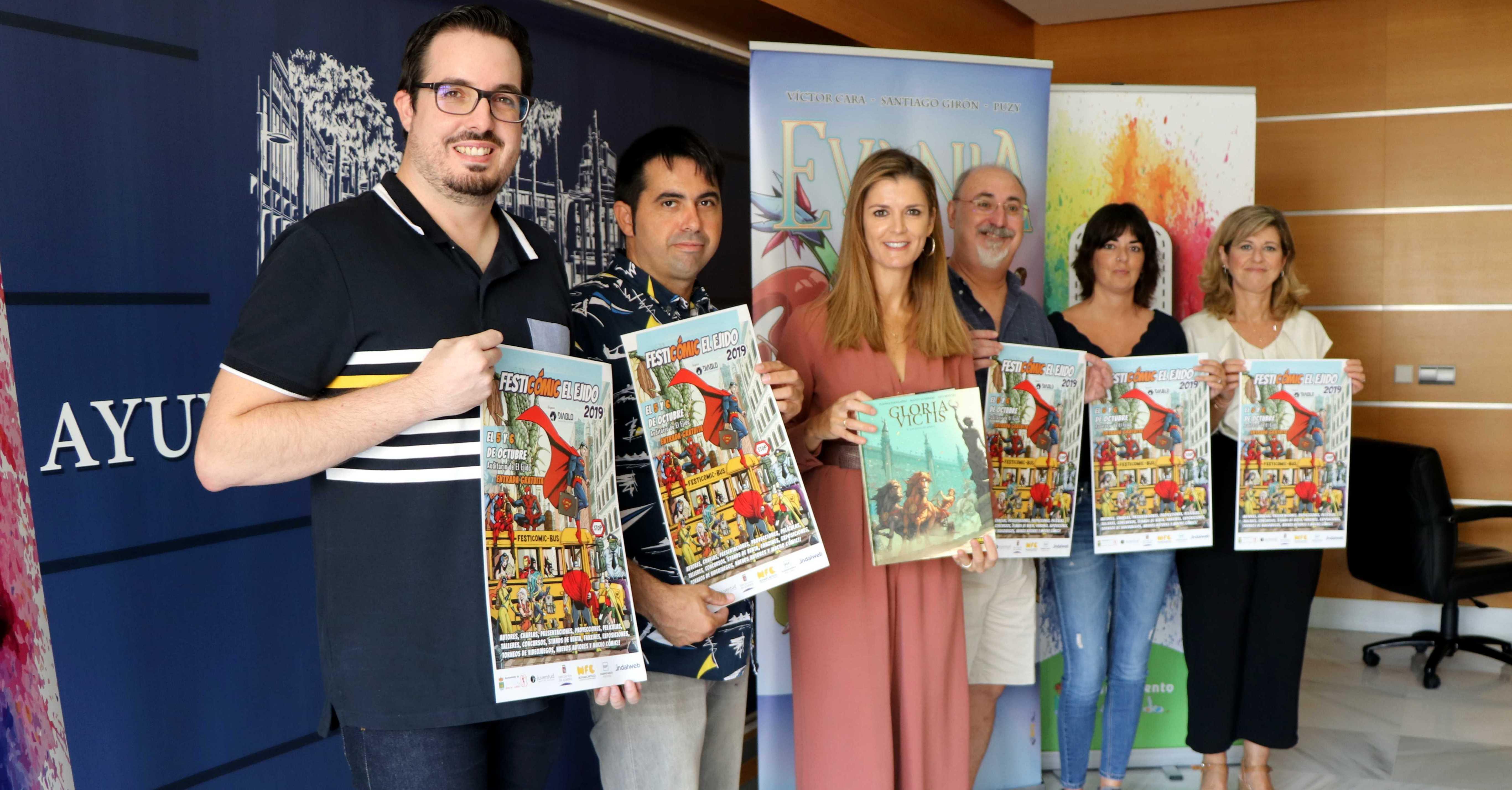 La gran fiesta ejidense del tebeo, Festicomic 2019, dará esta edición especial visibilidad a los creadores locales y provinciales