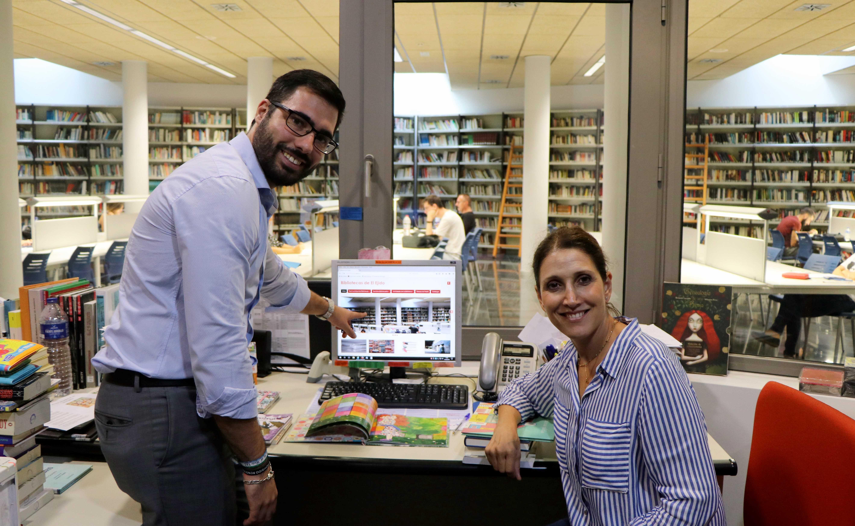 El Ejido moderniza el portal web de la Biblioteca convirtiéndose en una plataforma más visual y adaptada a las redes sociales
