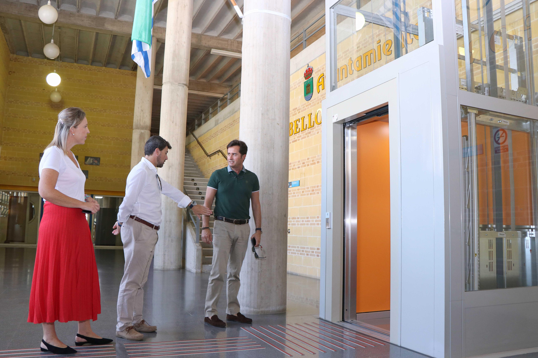 Las personas de movilidad reducida ya cuentan con un Pabellón de Deportes en El Ejido adaptado a la normativa en materia de accesibilidad
