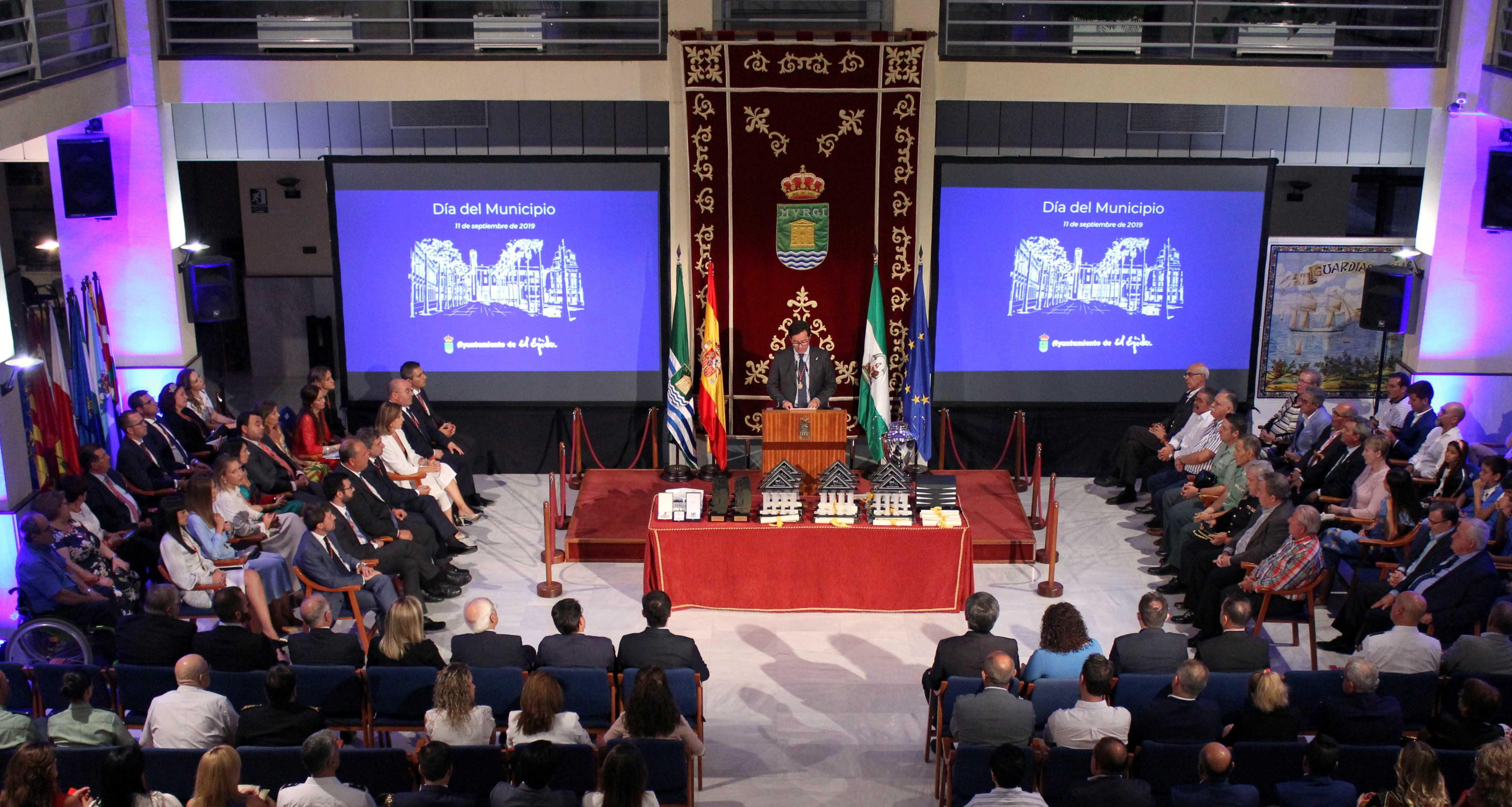 El alcalde ensalza el buen gobierno, el compromiso, la responsabilidad y el rigor que permiten un mayor ritmo inversor en el marco del XXXVII Día del Municipio