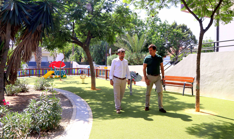 Los ejidenses ya pueden disfrutar de 6 nuevos parques infantiles totalmente remodelados, equipados y adaptados a las necesidades de los usuarios