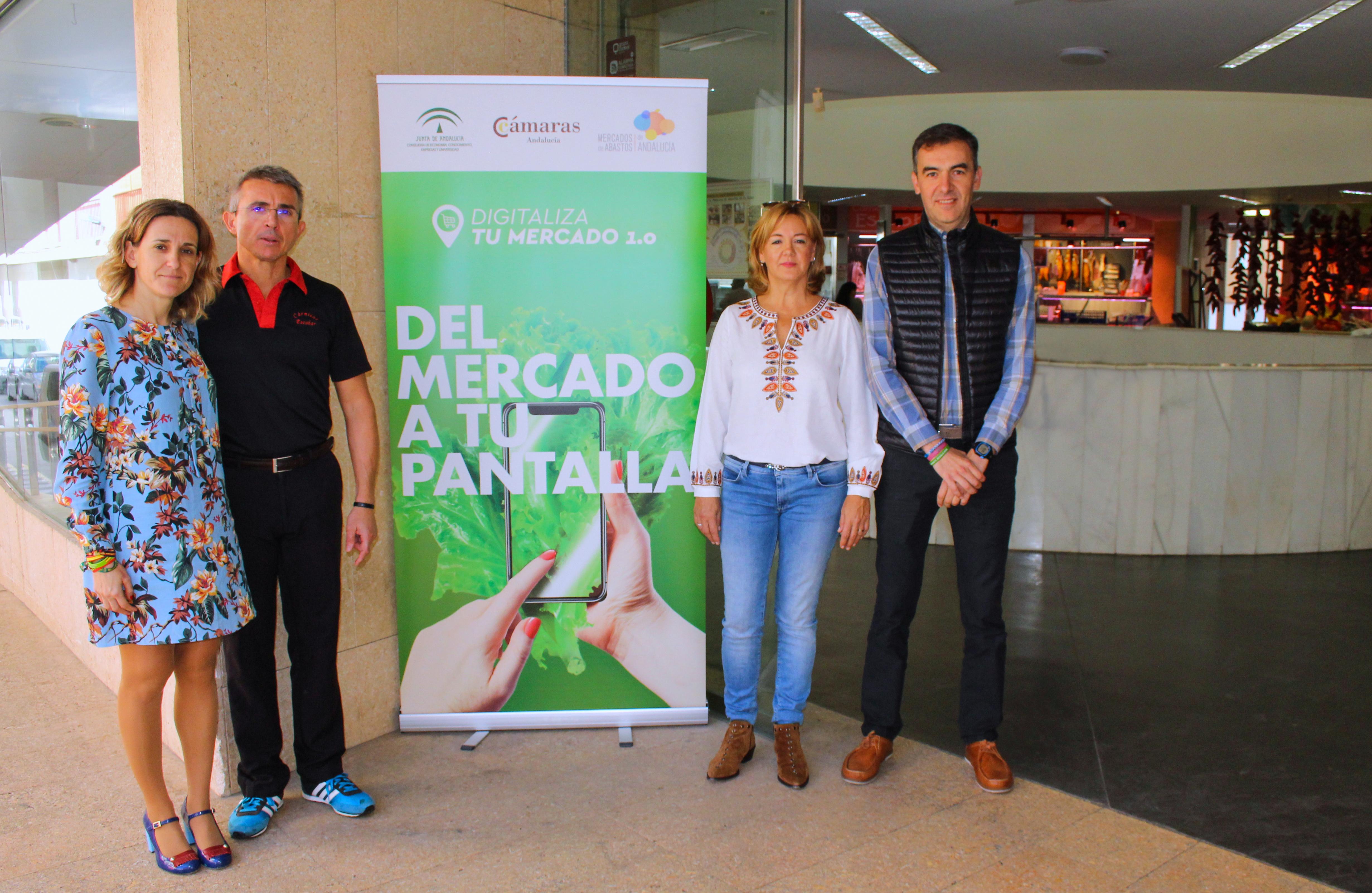 Ayuntamiento, comerciantes y Junta ya trabajaban en el proyecto de adaptación del Mercado de Abastos de El Ejido a las nuevas tecnologías