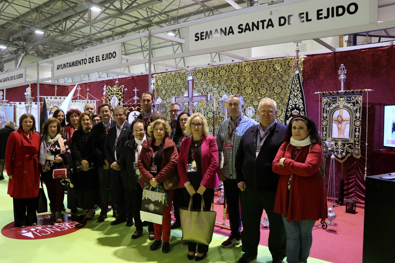 Las Cofradías y Hermandades de El Ejido presentes en la I Feria 'Esencia Cofrade'