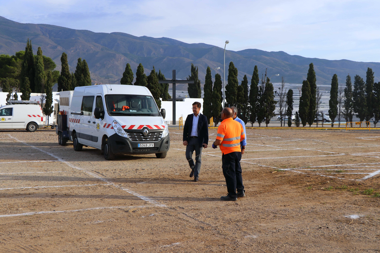 El equipo de gobierno destina más de 1.600.000 euros para la ampliación del Cementerio de El Ejido