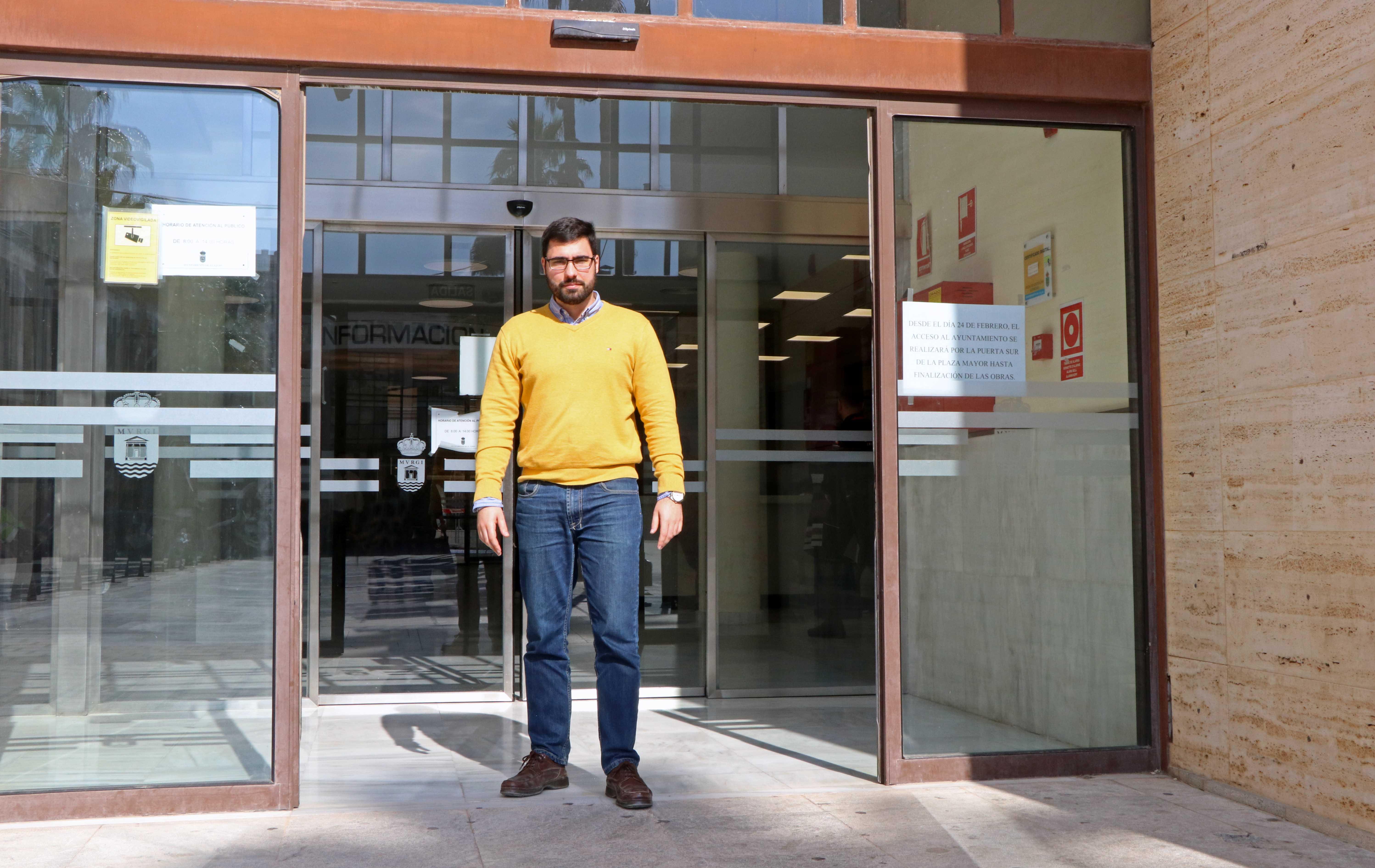 El Ayuntamiento habilita la puerta sur desde la Plaza Mayor como acceso principal a partir del lunes y hasta que finalice el proyecto de Adecuación de Espacios Urbanos en Ejido Centro