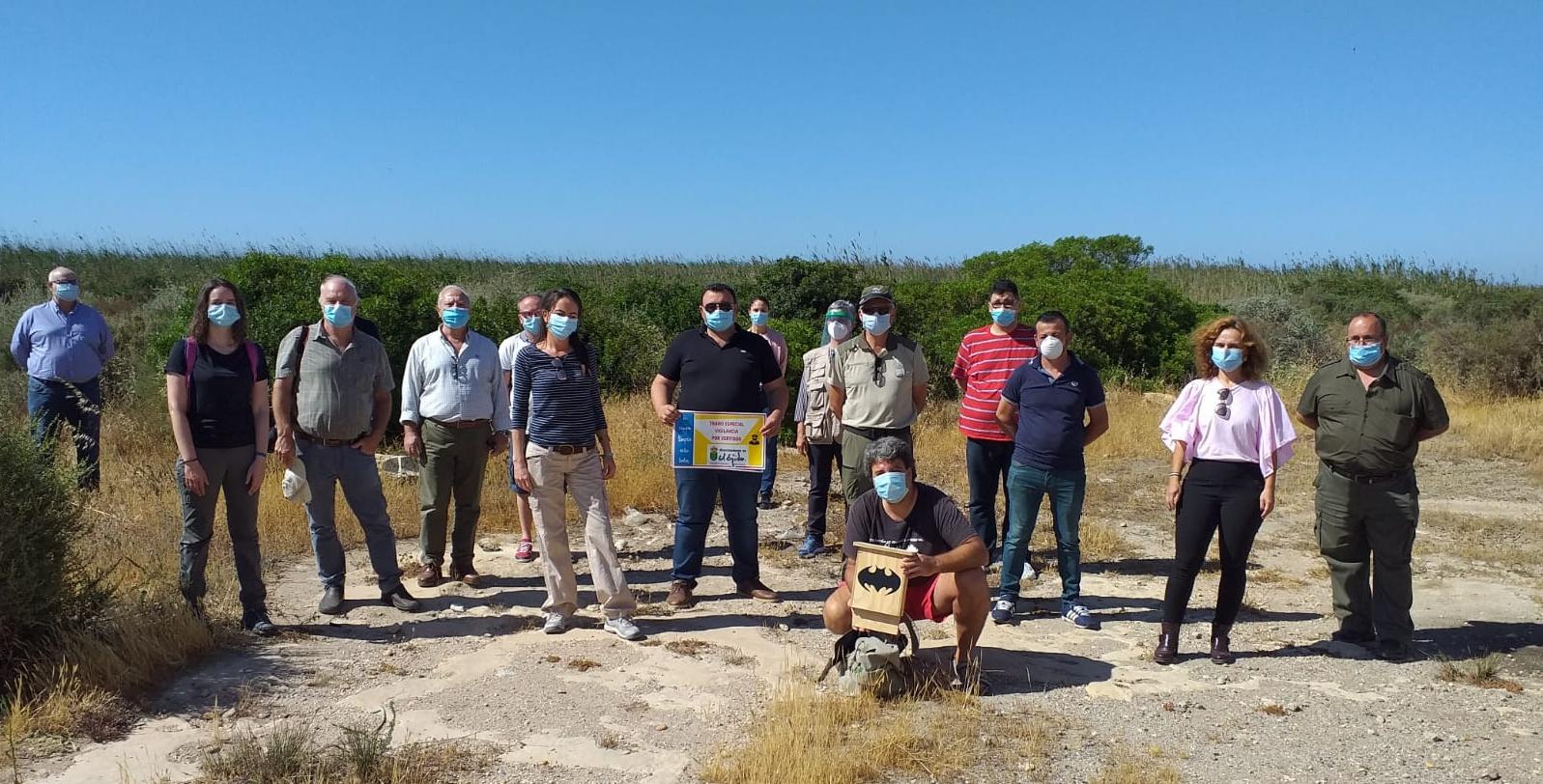 El Ejido conmemora hoy el Día Internacional del Medio Ambiente con una actividad de voluntariado ambiental en la Reserva y Paraje Natural Punta Entinas Sabinar