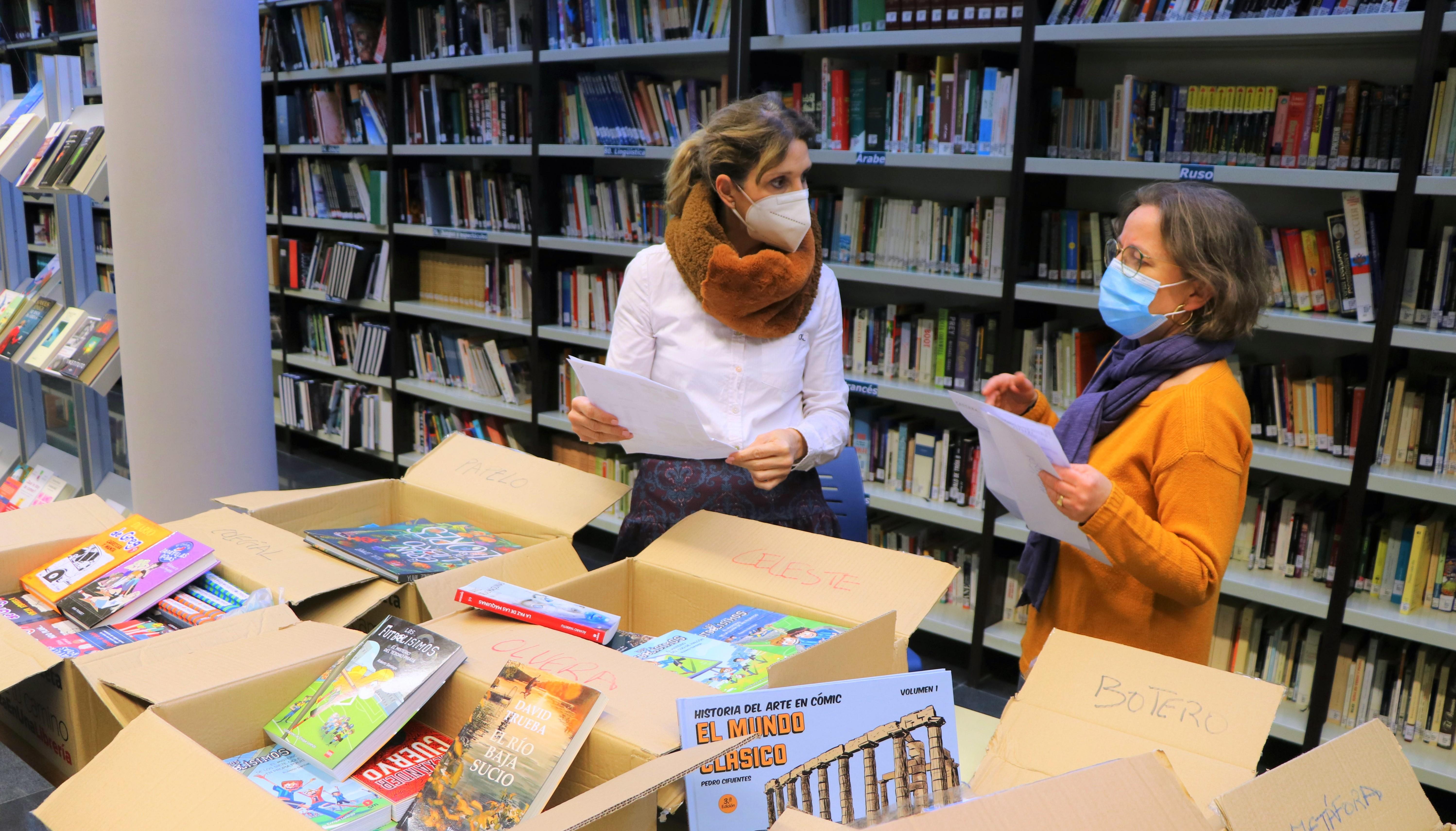 El gobierno local amplía los fondos bibliográficos de la Red de Bibliotecas Públicas del municipio