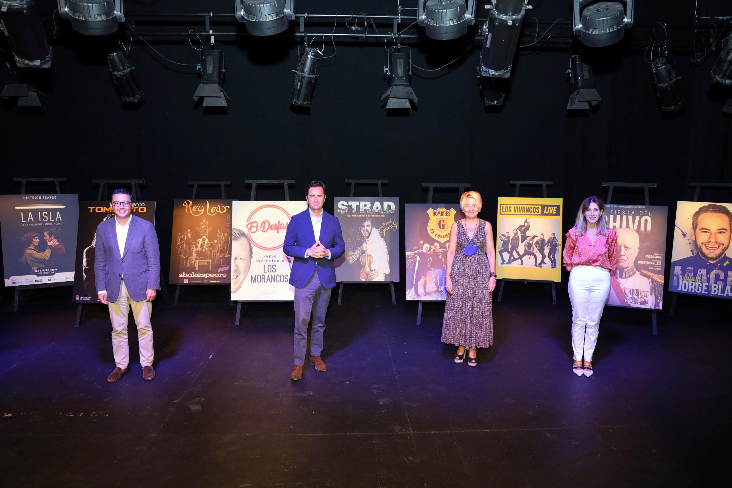 El 44º Festival de Teatro de El Ejido levanta el telón en otoño con compañías y artistas de primer nivel y 45 espectáculos que abarcan todas las artes escénicas