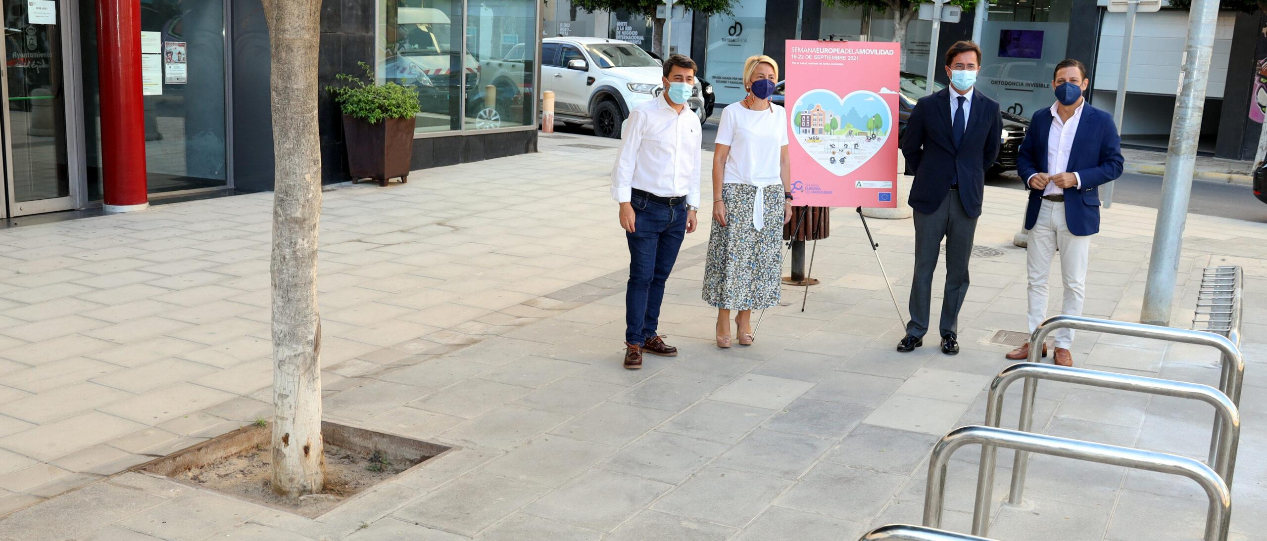 Ayuntamiento de El Ejido y Consorcio de Transporte colaboran en el fomento de la movilidad sostenible en el municipio