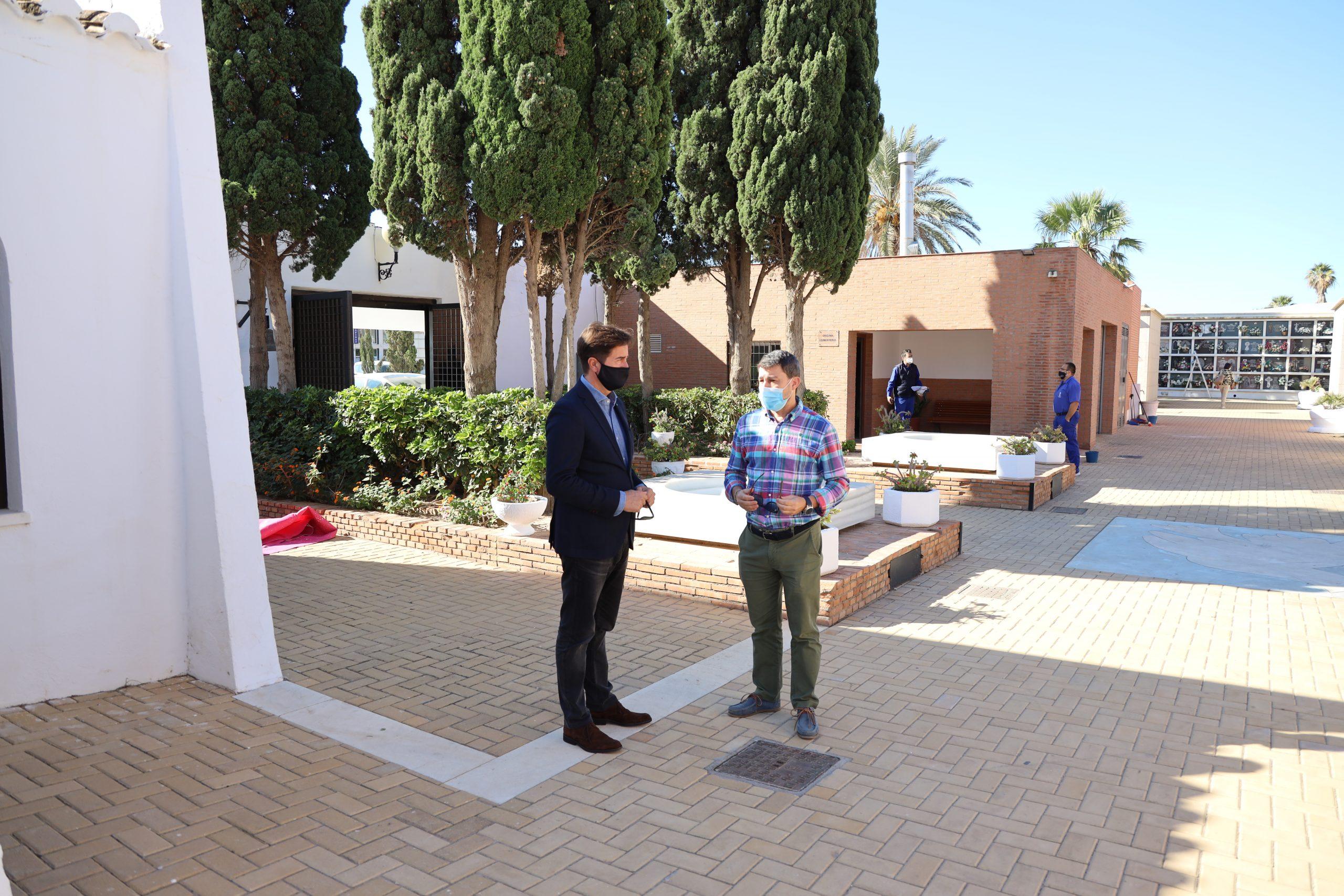 El Ayuntamiento pone a punto todos los Cementerios del municipio de cara a la celebración de Todos los Santos