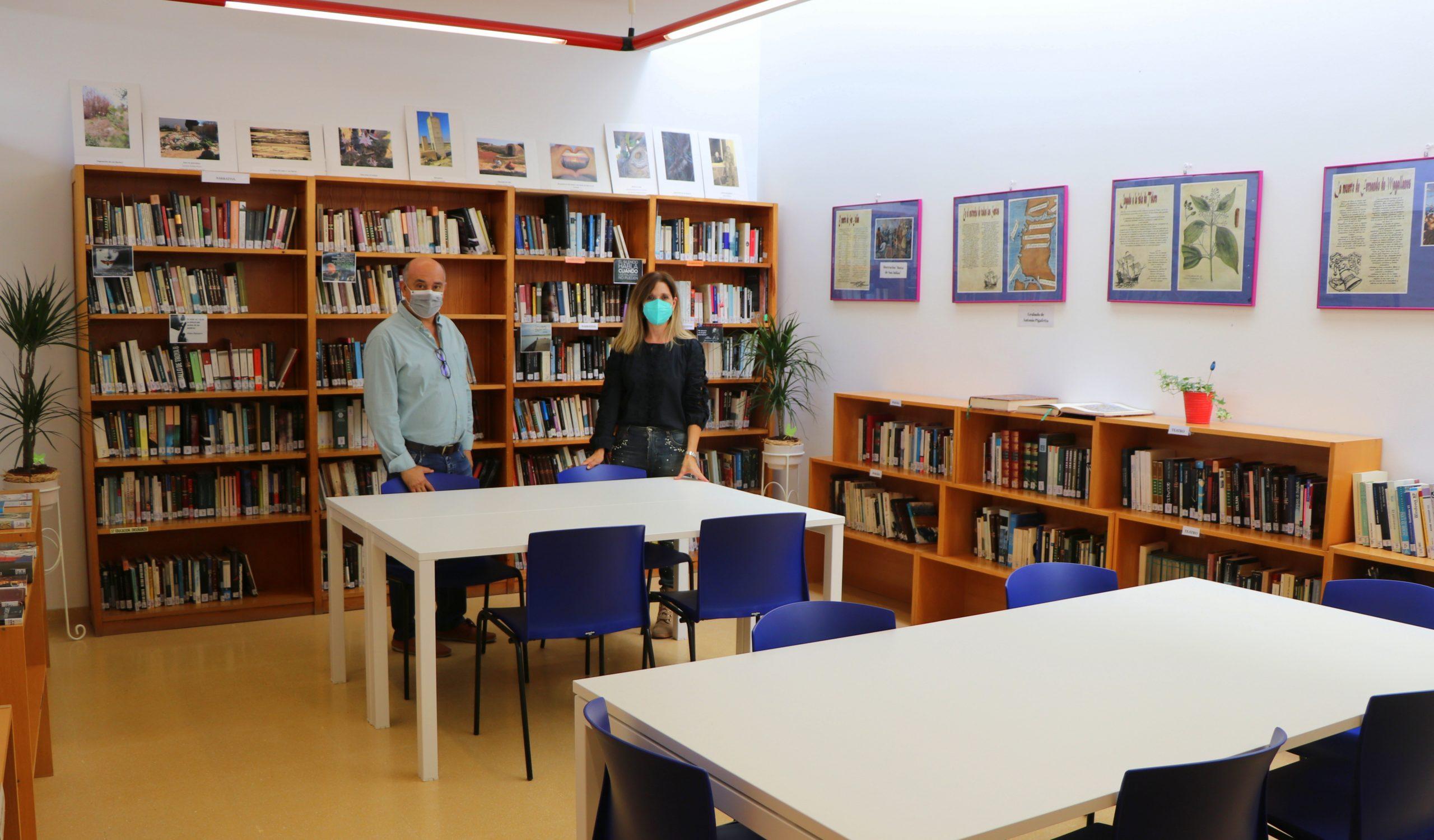 La Biblioteca de Las Norias se moderniza con nuevo equipamiento, mejoras técnicas y la dotación de una amplia sala de lectura